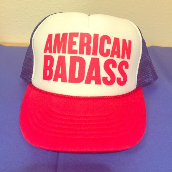 c73fb9ddb Kid rock American badass trucker hat